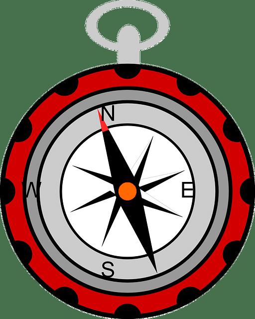 Kompass als Wegweiser