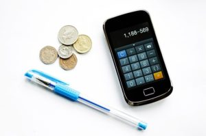 Ausgaben-Einnahmen rechnen