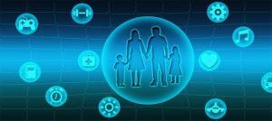 Gehaltsausgaben mit Familie