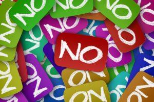 Grenzen setzen mit Nein sagen