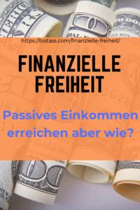 Finanzielle Freiheit, passives Einkommen