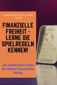 Finanzielle Freiheit - Lerne die Spielregeln kennen